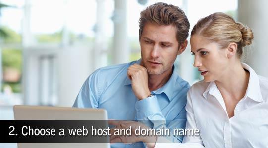 Choose web host