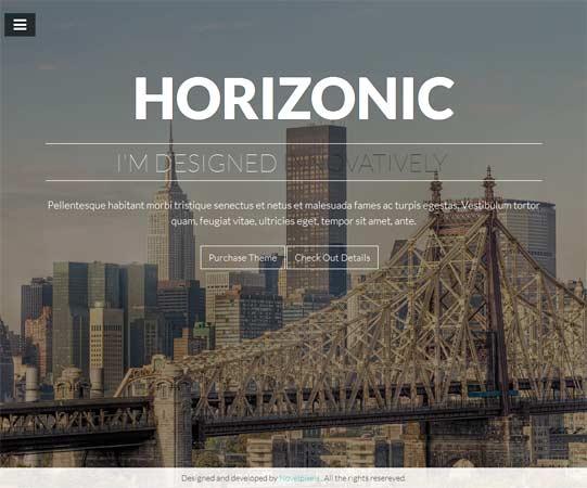 Horizonic theme