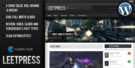 LeetPress magazine theme
