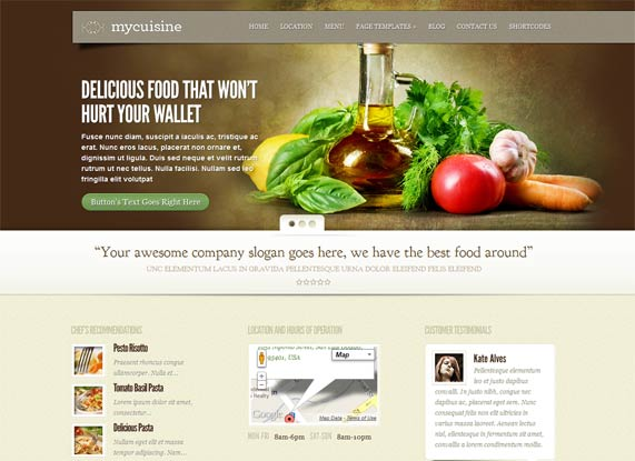 MyCuisine food theme