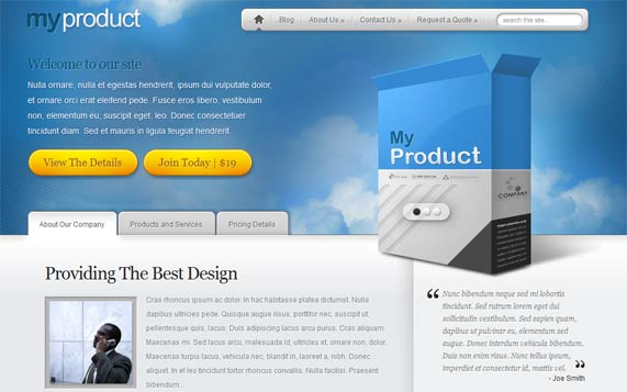 MyProduct Theme