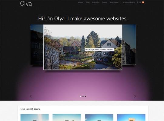 Olya theme