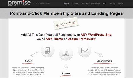 Premise sales page