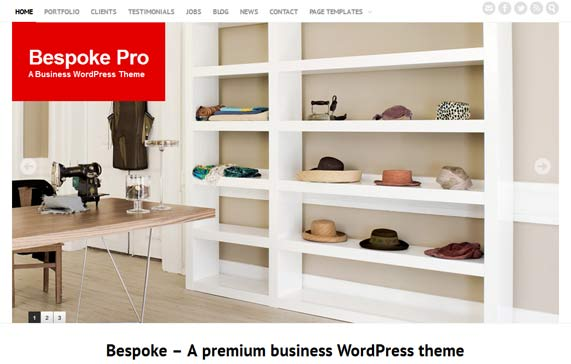 Premium business theme