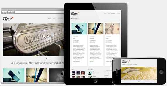 Responsive theme on mobile devices