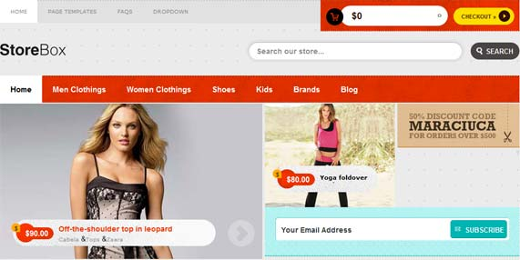 StoreBox E-Commerce Theme