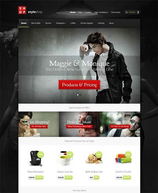StyleShop theme