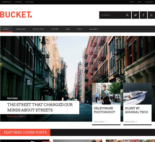 ThemeForest Bucket