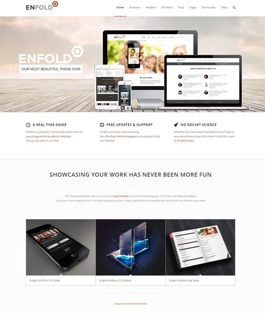 ThemeForest Enfold