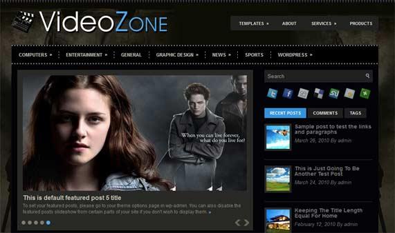 Videozone theme