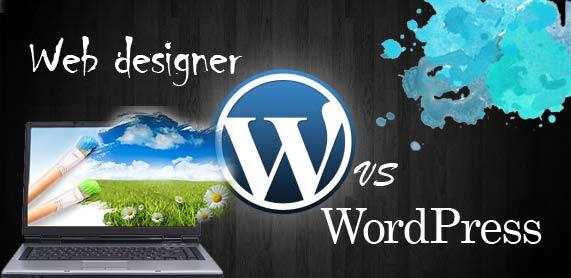 Web designer vs WordPress templates