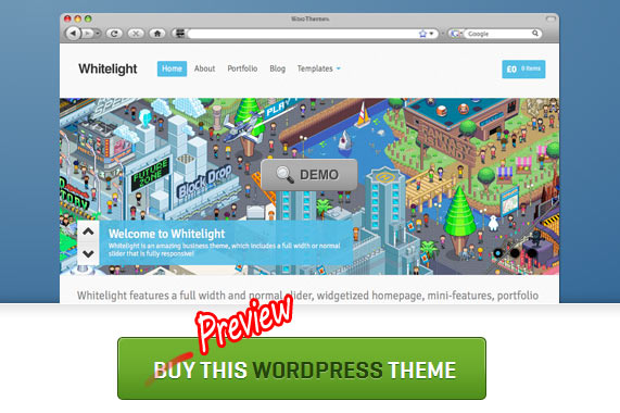 WooThemes preview