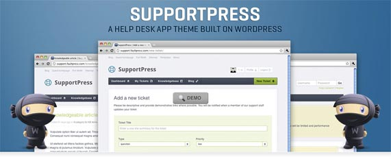 WordPress Support Theme