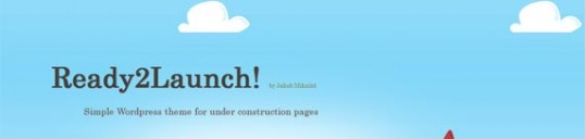 Under construction page theme