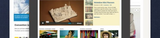 WordPress themes features