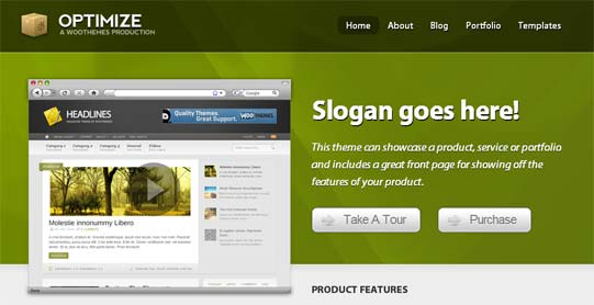 Best sales page WordPress themes. Very high conversion ...